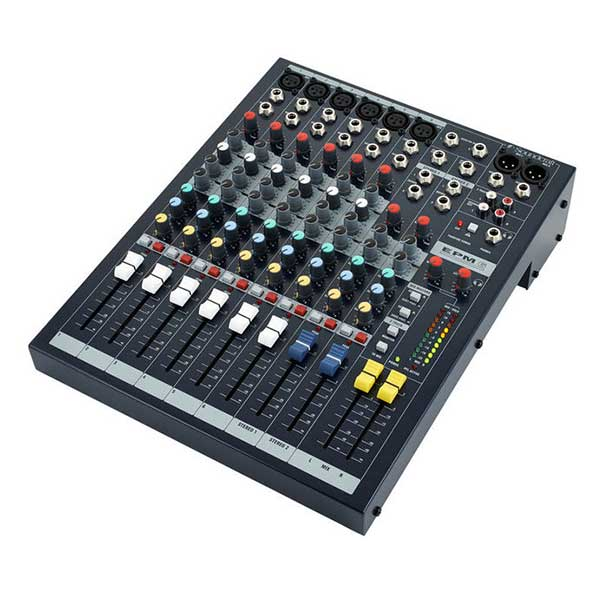 table mixage audio analogique micro son