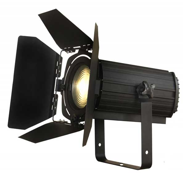 projecteur theatre led fresnel plan convexe eclairage  evenementiel